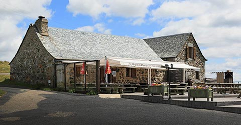 Restaurant Buron-de-Born Aubrac Lozere